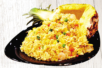 Fresh Pinapple fried rice