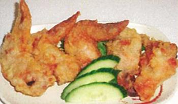Deep Fried Chicken Wings (5 Pcs)