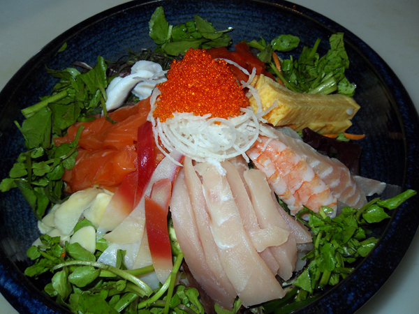 Spicy Chirashi Don